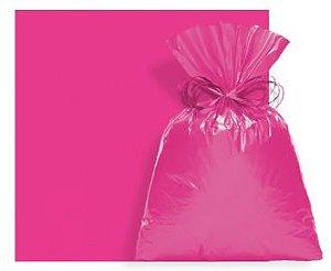 Saco Perolado com Aba Adesiva Pink 08x8cm - 100 unidades - Cromus - Rizzo Embalagens