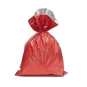 Saco Soft Color Vermelho 10x14cm - 40 unidades - Cromus - Rizzo Embalagens