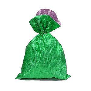 Saco Soft Color Verde 15x29cm - 40 unidades - Cromus - Rizzo Embalagens