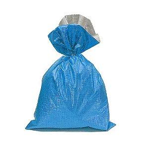 Saco Soft Color Azul 45x59cm - 25 unidades - Cromus - Rizzo Embalagens