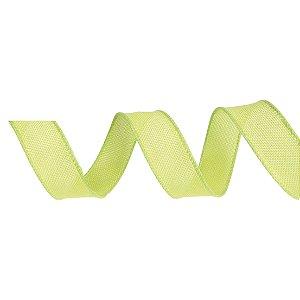 Fita de Juta Aramada Verde para Decoração de Páscoa  - 3cm x 9,14m - Cromus Páscoa - Rizzo Embalagens