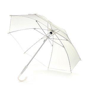 Guardachuva para Decoração Branco - 42cm - Cromus Páscoa - Rizzo Embalagens