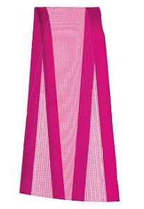 Fita de Voal com Cetim ZC005 22mm Cor 303 Pink - 10 metros - Progresso - Rizzo Embalagens