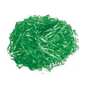 Palha de Seda Decorativa Verde Bandeira - 01 pacote 50g - Cromus Páscoa - Rizzo Embalagens