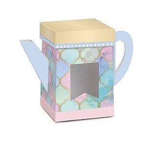 Caixa Bule Paraíso - 04 unidades - Cromus Páscoa - Rizzo Embalagens