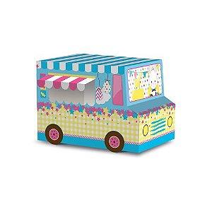 Caixa para Ovo de 180g a 250g Food Truck - 6 unidades - Cromus Páscoa - Rizzo Embalagens