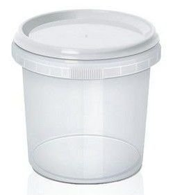 Pote com Lacre 500ml com 10 unidades WS Plásticos Rizzo Embalagens