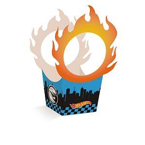 Cachepot Festa Hot Wheels - 8 unidades - Cromus - Rizzo Festas