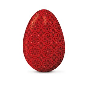 Papel Chumbo 43,5x58,5cm - Chocolatier Vermelho - 5 folhas - Cromus - Rizzo Embalagens