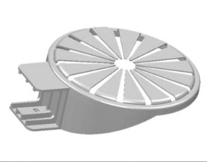 Embala Ovo - 01 unidade - Cromus Páscoa - Rizzo Embalagens