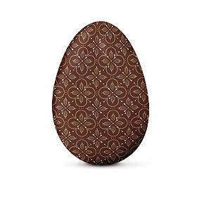 Papel Chumbo 8x7,8cm - Chocolatier Marrom - 300 folhas - Cromus - Rizzo Embalagens