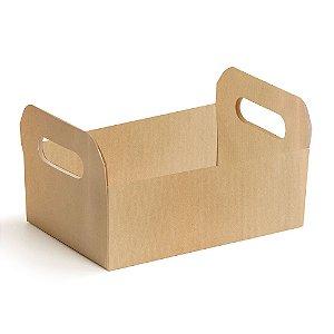 Caixote de Papel Cartão Pardo G - 01 unidade - Cromus Páscoa - Rizzo Embalagens