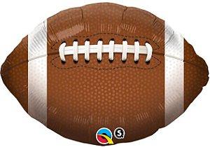 Balão Metalizado Futebol Americano - 18'' - 1 Unidade - Qualatex - Rizzo festas