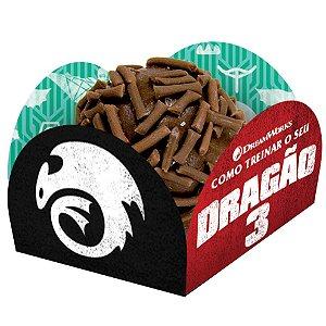 Forminha para Doces Festa Como Treinar o Seu Dragão - 40 unidades - Festcolor - Rizzo Festas