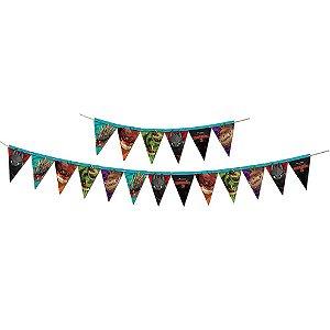 Faixa Decorativa Festa Como Treinar o Seu Dragão - Festcolor - Rizzo Festas