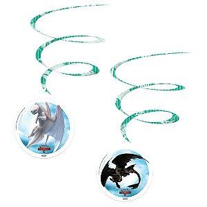 Móbile Decorativo Festa Como Treinar o Seu Dragão - 4 unidades - Festcolor - Rizzo Festas