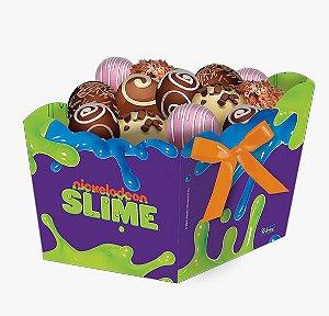 Cachepot Festa Slime - 8 unidades - Festcolor - Rizzo Festas