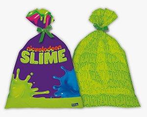 Sacolinha Surpresa Festa Slime - 8 unidades - Festcolor - Rizzo Festas