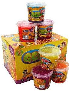 Slime Gel Kids Lembrancinha Festa Slime Pote de 200g Caixa com 12 unidades Sortidas - Rizzo Festas