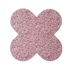 Forminha para doces 4 Pétalas Glitter Rosa - 50 unidades -  NC Toys Rizzo Festas