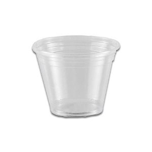 Copo Descartável 80ml Cristal - 100 unidades - Copaza - Rizzo Embalagens