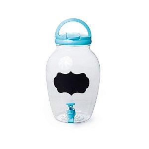 Suqueira de Plástico Azul 4400ml - 17,5 x 27,5 - 1 Unidade - Rizzo Embalagens