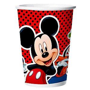 Copo de Papel Festa Mickey 180ml - 12 unidades - Regina - Rizzo Festas