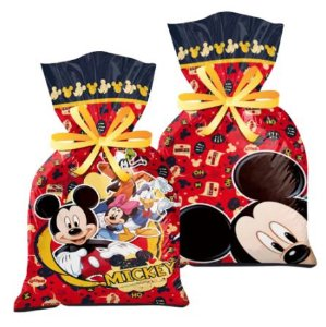 Sacolinha Surpresa Festa Mickey - 8 unidades - Regina - Rizzo Festas