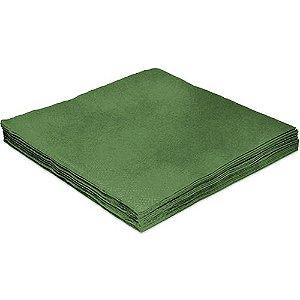 Guardanapo Liso Verde - 32cm - 20 unidades - Silver Festas - Rizzo Festas