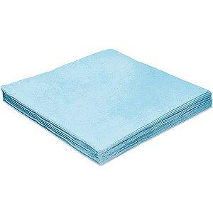 Guardanapo Liso Azul - 32cm - 20 unidades - Silver Festas - Rizzo Festas