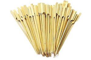 Palito em Bambu p/ petiscos  - 20 un - 12 cm - Ref. HA218 - Silver Festas