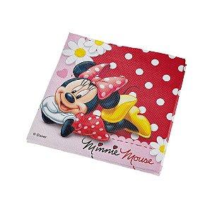 Guardanapo Festa Minnie - 25cm - 16 unidades - Regina - Rizzo Festas