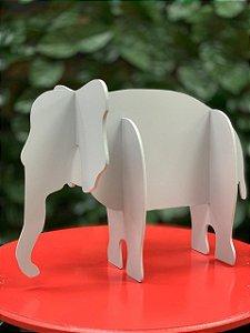 Enfeite de Mesa Elefante Festa Safari - 1 Unidade - Rizzo Festas