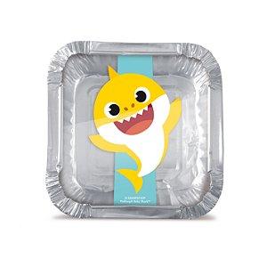 Marmitinha P Festa Baby Shark - 12 Unidades - Cromus - Rizzo Festas