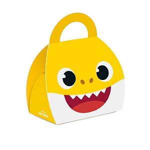 Caixa Maleta Festa Baby Shark - 10 Unidades - Cromus - Rizzo Festas