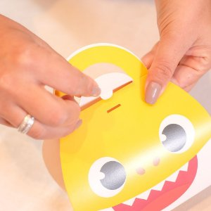 Caixa Maleta Festa Baby Shark - 8 Unidades - Cromus - Rizzo Festas