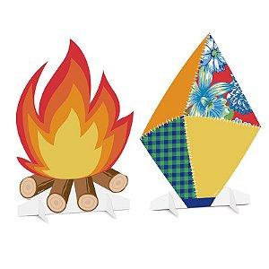 Silhueta Decorativa Composê Festa Junina - 01 unidade - Cromus - Rizzo Festas