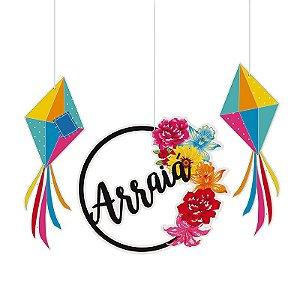 Móbile Quadrilha Festa Junina - 01 unidade - Cromus - Rizzo Festas