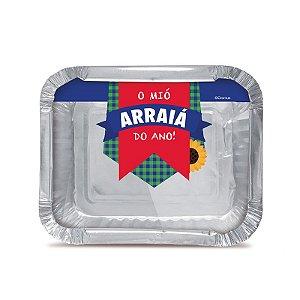 Marmitinha Arraiá M 8,5x6,5cm Festa Junina - 12 unidades - Cromus - Rizzo Festas