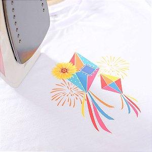 Transfer para Camiseta Balão Festa Junina - 01 unidade - Cromus - Rizzo Festas
