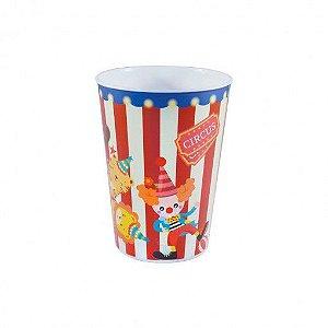 Copo de Plástico Festa Circo 320ml - 1 unidade - Plasútil - Rizzo Festas