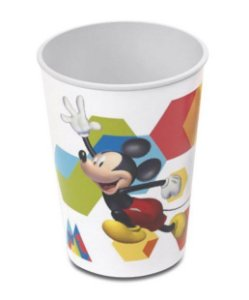 Copo de Plástico Festa Mickey 320Ml - Plasútil - Rizzo Festas