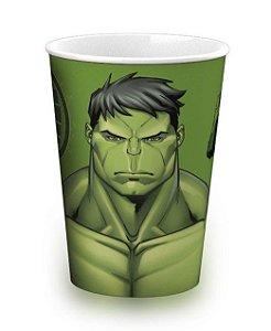 Copo de Plástico Hulk Avengers 320ml - 1 unidade - Plasútil - Rizzo Festas