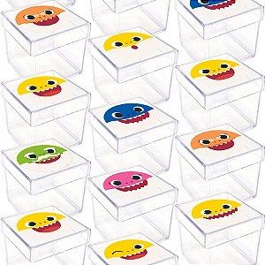 Caixinha Acrílica para Lembrancinha Festa Baby Shark - 20 unidades -  Rizzo Festas