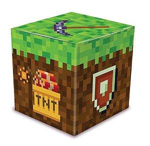 Caixa para Lembrancinhas Festa Minecraft - 8 unidades - Junco - Rizzo Festas