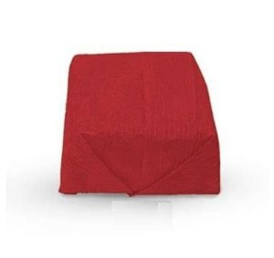 Papel Crepom Para Bem Casado Vermelho - 15x15cm - 40 unidades - Rizzo