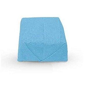 Papel Crepom Para Bem Casado Azul Claro - 15x15cm - 40 unidades - Rizzo