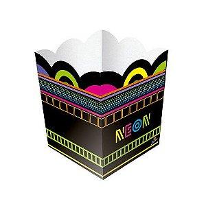 Cachepot Festa Neon - 8 unidades - Junco - Rizzo Festas