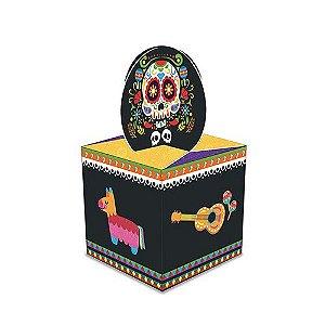 Caixa para Lembrancinhas Festa Mexicana - 8 unidades - Junco - Rizzo Festas