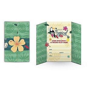 Convite Festa Tucano - 8 unidades - Junco - Rizzo Festas